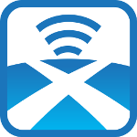 Radio Saltire Icon