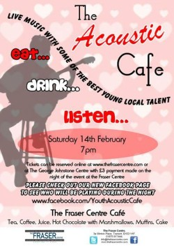 Acoustic Cafe - at The Fraser Centre @ The Fraser Centre | Tranent | United Kingdom