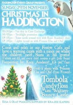 Christmas In Haddington, East Lothian @ Corn Exchange | Haddington | United Kingdom